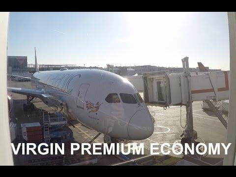 Virgin Atlantic Premium Economy Dreamliner LHR - JFK
