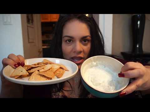 Air Fryer | Tortilla Chips and NO FAT Ranch Dip Recipe | Weight Watchers Simply Filling
