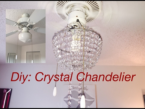 Diy: Real Crystal Chandelier 💎