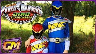 Power Rangers Dino Super Charge Kids Parody