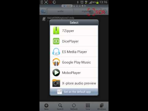 How to set m4a as sound notification using es explorer 3 on android 4.1 4.2 4.3