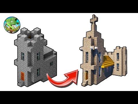 How to Transform a Minecraft Village Church