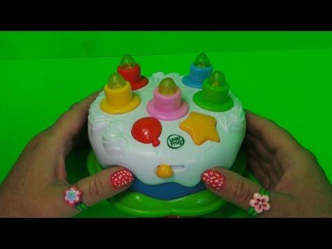 LEAPFROG ELECTRONIC KINDERGARTEN HAPPY BIRTHDAY CAKE