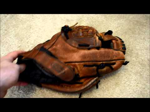 Easton NAT70 Baseball Glove Relace - Before and After Glove Repair
