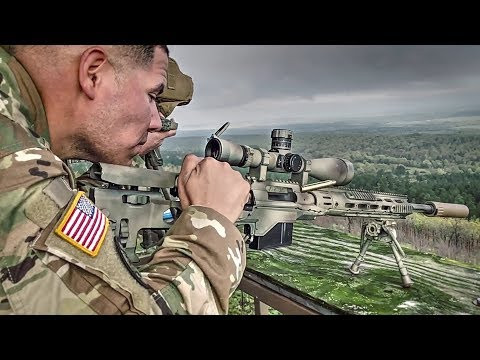 Top Military Shooters Compete In Sniper Championship (2018 Winston P. Wilson/AFSAM)