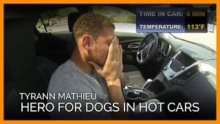 How Long Can This NFL Player Tough It Out in a Hot Car?
