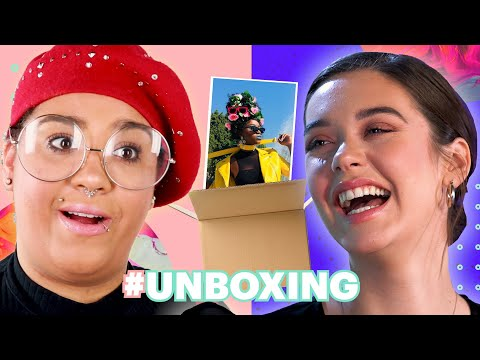 Mystery Box Modeling Challenge Feat. Amanda Steele