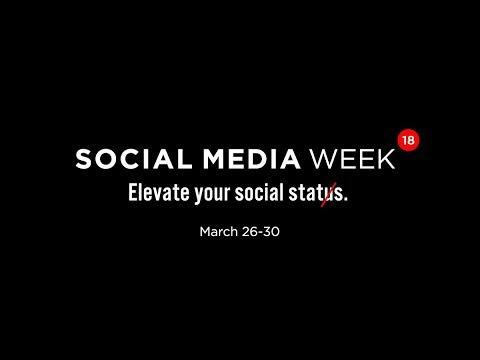 Social Media Week 2018 (Official Trailer)