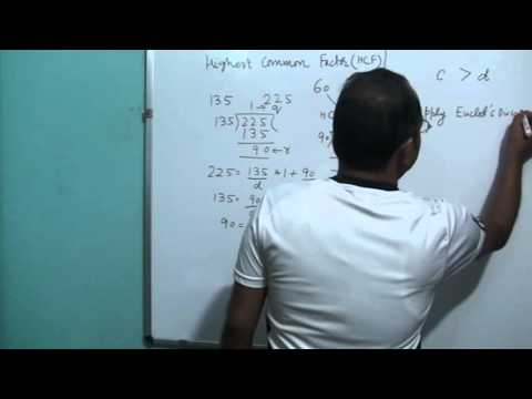 CBSE Class 10 Math Chapter 1 Part 2: Euclid's Division Algorithm: HCF of Two Numbers