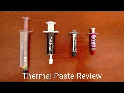 Arctic Silver 5 vs Antec Formula 7 vs CRYORIG CP9 vs Cooler Master - Thermal Paste Review (4K)