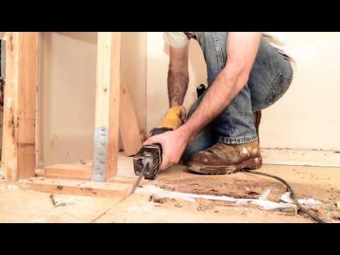 Rebuilding the Master Closet Wall