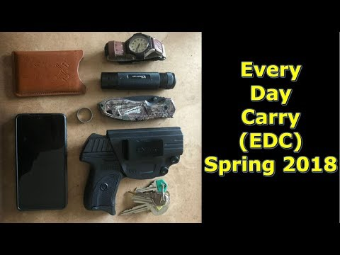 Spring 2018 EDC Everyday Carry by @GettinJunkDone