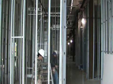 How to frame metal walls by Coronado Drywall inc.