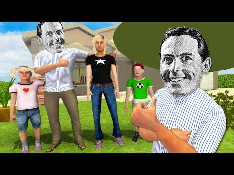 THIS WHOLE FAMILY IS REKT || Virtual Dad: Ultimate Family Man