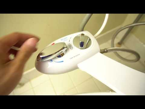 How to Install Yegu Hot & Cold Water Bidet on Your Toilet and Review (Enjoyclean EB8501)