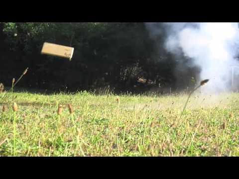 Cube Firecracker vs. Shoe