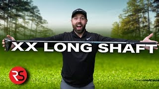"THE 50"" XX LONG GOLF DRIVER - EXTRA 34 YARDS OF DISTANCE"