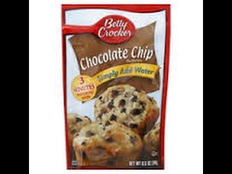 Dollar Tree Betty Crocker Chocolate Chip Muffin Mix Review