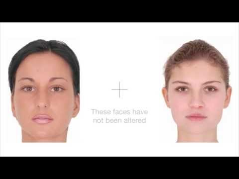 Watch how your brain turns pretty faces into ugly faces..