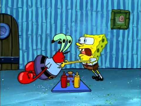 I can't do it Mister Krabs