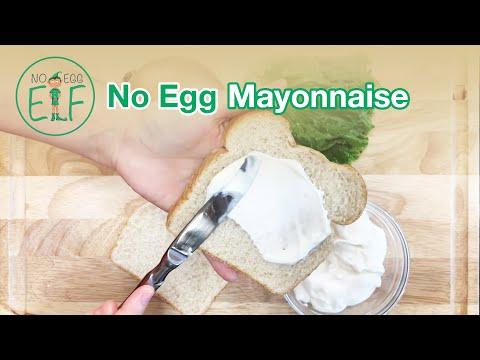 How to Make No Egg Mayonnaise