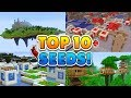 TOP 10 BEST SEEDS for Minecraft! (Pocket Edition, Xbox, Windows 10)