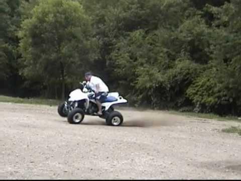 ATV Flip - Suzuki LT Z400 Crash - FAIL