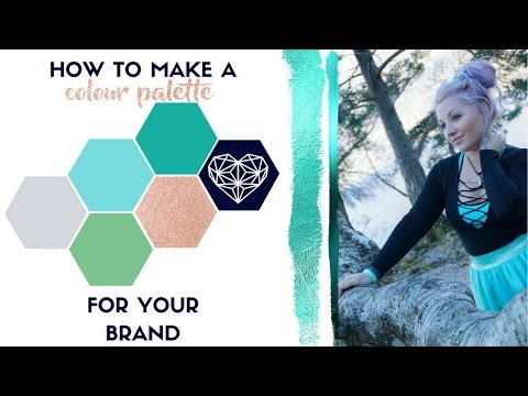 How To Create A Colour Palette For Your Personal Brand △ BRANDING △