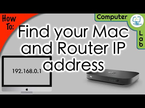How to find Mac IP address & Router IP on Mac
