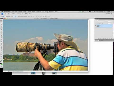 Changing background in Photoshop CS4 - Part 1