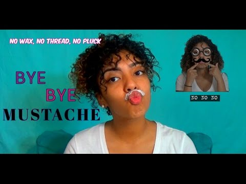 GET RID OF YOUR MUSTACHE || NO HAIR REMOVAL !!!
