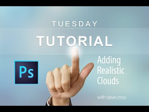 Add Realistic Clouds to your photos with Photoshop