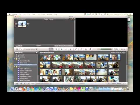 iMovie - Adding Pictures and Video to your project