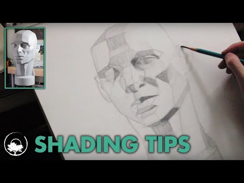 Shading the Asaro Head - Drawing Session #02