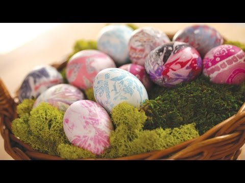 Robert's Tie-Dyed Easter Eggs || KIN DIY