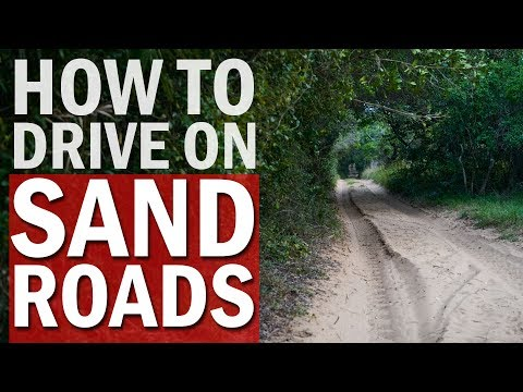 4x4 Tip How to Drive on Sand Roads in Mozambique: The Middle Mannetjie