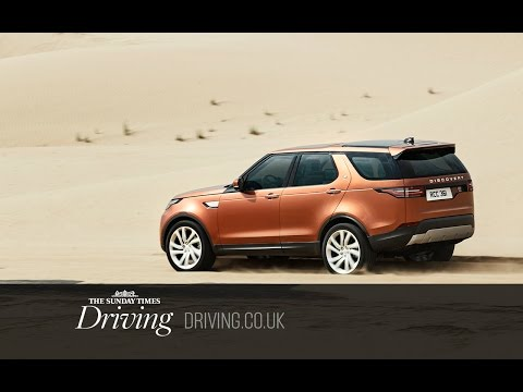 New Land Rover Discovery vs sand dunes