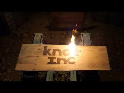 Knot Inc. - Gunpowder Sign Burn #2