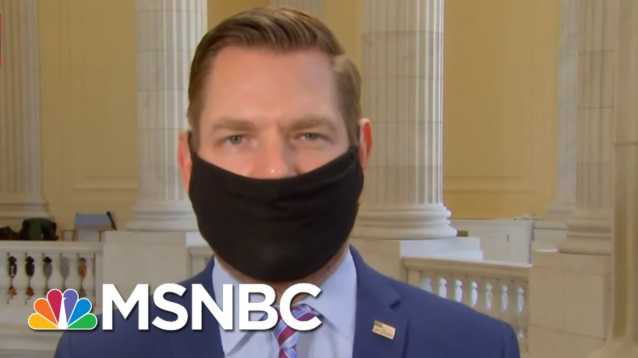 """Rep. Swalwell: March 4th Warning """"Aligns"""" With What We've Heard Before And After Capitol Riots"""