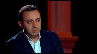 """თავდაცვის მინისტრი ირაკლი ღარიბაშვილი, სტუმრად ტელეკომპანია """"იმედის"""" ეთერში"""