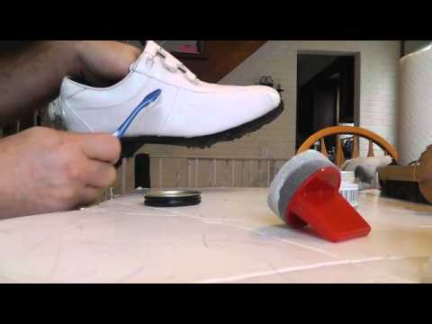How to Polish White Golf Shoes