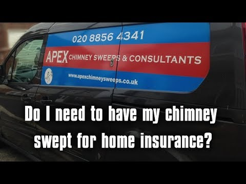 Do I need my chimney swept for home insurance in the UK?