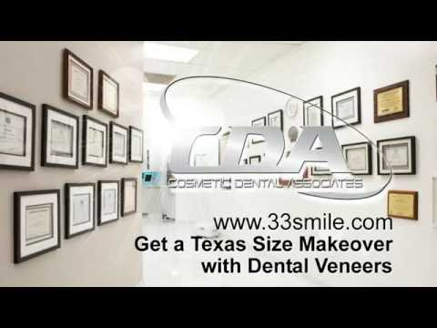 Get a Texas Size Makeover with Dental Veneers at Cosmetic Dental Associates San Antonio, TX