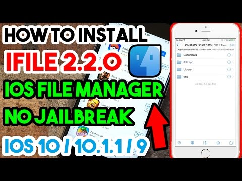 New How To Install iFile 2.2.0 iOS File Manager Free No Jailbreak/Crash On iOS 10/9 iPhone/iPod/iPad