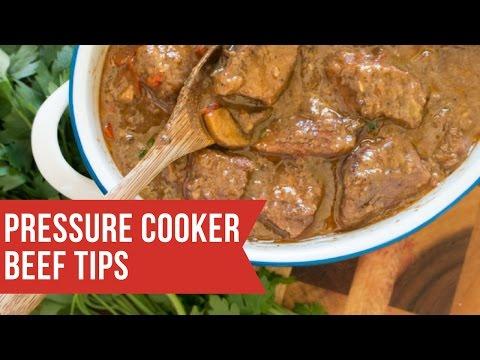 The Best Pressure Cooker Beef Tips
