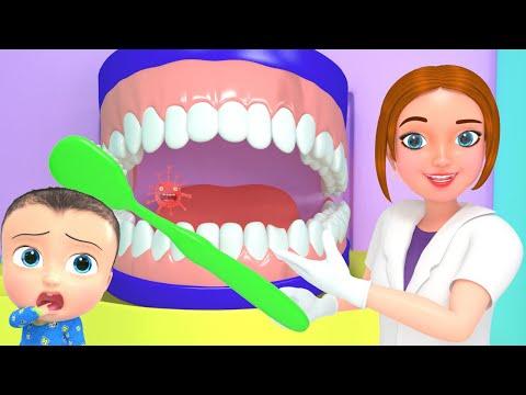 Baby Dental Care Song | Brush Teeth Twice Daily | BST Kids Songs & Nursery Rhymes