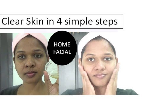 Get Extreme Clear skin in 4 steps  |ALOE VERA FACIAL AT HOME