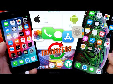 How to Transfer Everything from one phone to another EASY iOS & Android
