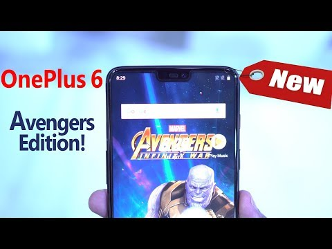 👉 OnePlus 6 - The Avengers Edition! (Exclusive Hands On Preview) 😲