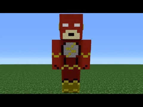 Minecraft 360: How To Make A Flash Statue